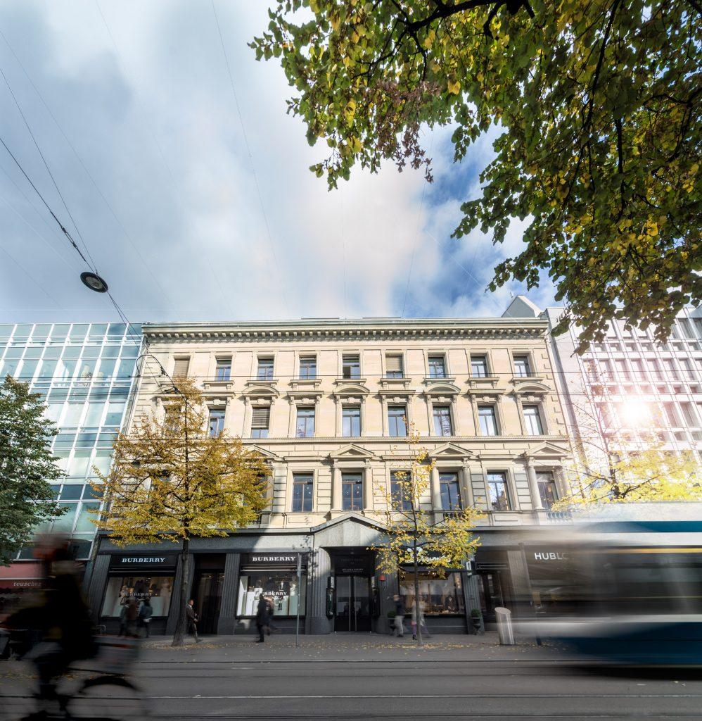Bürogebäude Innenstadt Zürich Müller und Paparis Anwaltskanzlei