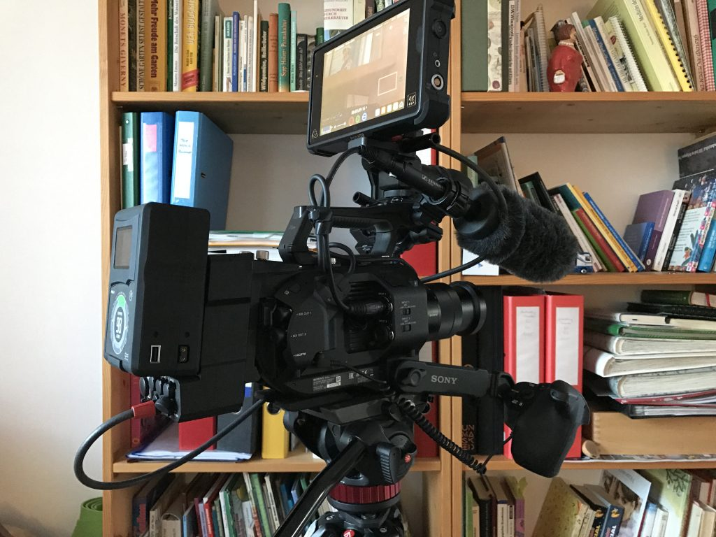 Sony FS7 mit RAW output unit XDCA-FS7 Atomos Inferno Flame SDI Setup