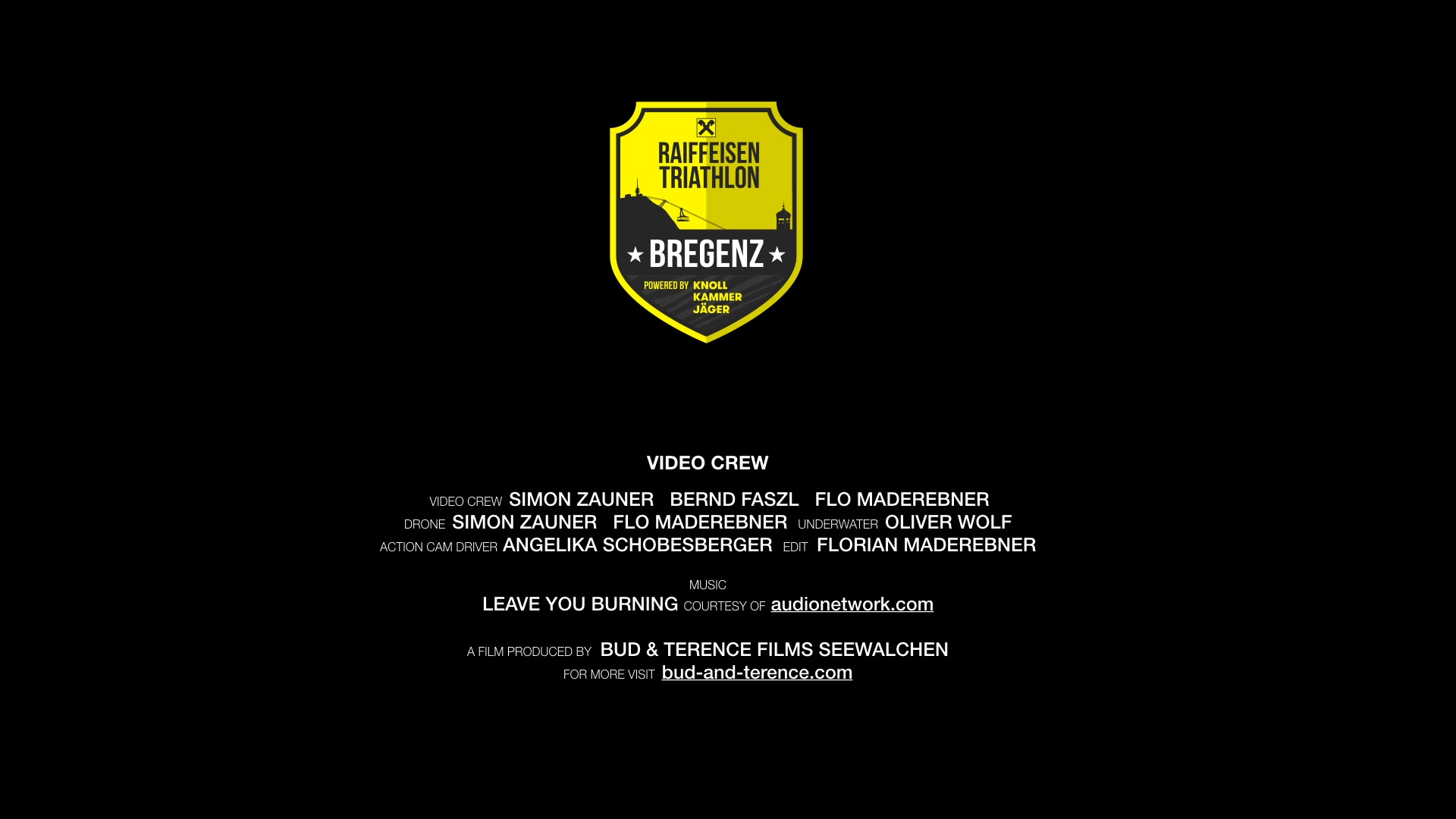 Triathlon Bregenz 2018 Film Team Crew